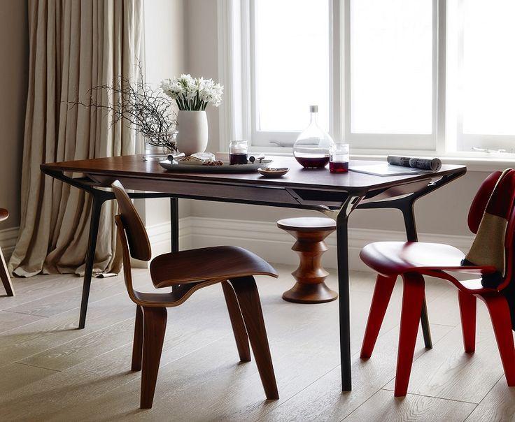 #designmk #furniture #design #industrial #multifunctional #HermanMiller #woodenfurniture #Carafe #interior #table #diningtable
