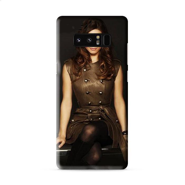 lindsay fonseca brunette stylish dress advertising Samsung Galaxy Note 5 3D Case Caseperson
