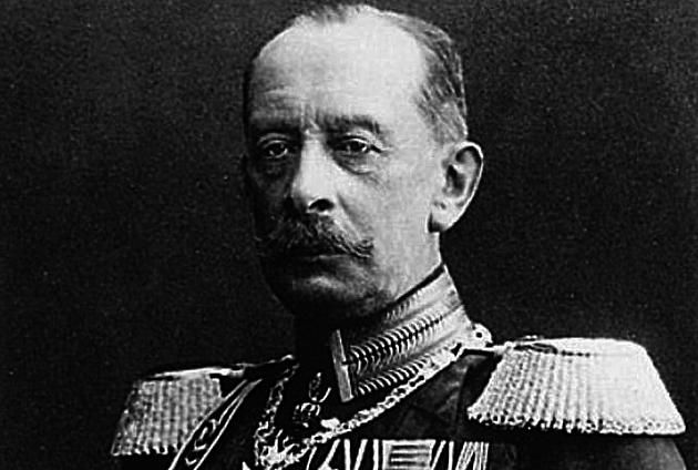 This is an image of Alfred Von Schlieffen. He was a German strategist and field marshal who was also chief of Imperial German General Staff