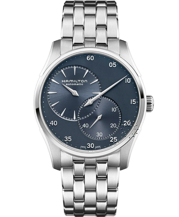 HAMILTON Jazzmaster Auto Regulator Stainless Steel Bracelet Μοντέλο: H42615143 Η τιμή μας: 941€ http://www.oroloi.gr/product_info.php?products_id=38267