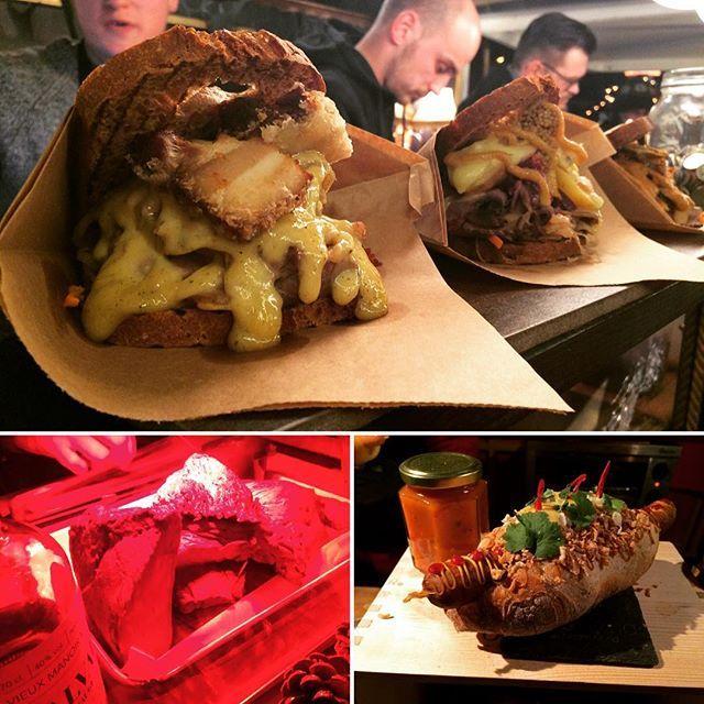 "Instagram media by feversocial - Омномном Цюрих :) БургерЫ с раклетом, ""65 часовой стейк с виски"" и хот-дог какой-то там 🍔🍖🌭 #zürich #wienachtsdorf #weihnachtsmarkt #switzerland #food #foodporn #omnomnom #burger #hotdog #steak"