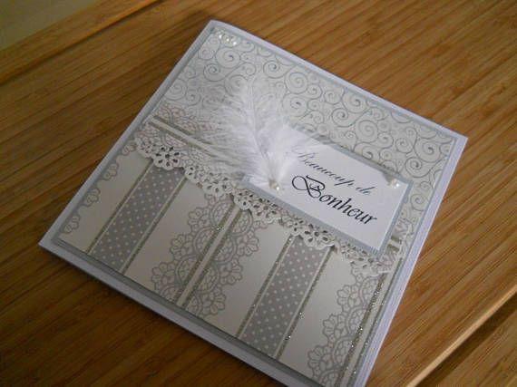 Retrouvez cet article dans ma boutique Etsy https://www.etsy.com/ca-fr/listing/563882085/carte-de-mariage-beaucoup-de-bonheur