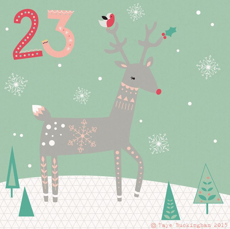 Day 23 christmas advent, by Faye Buckingham