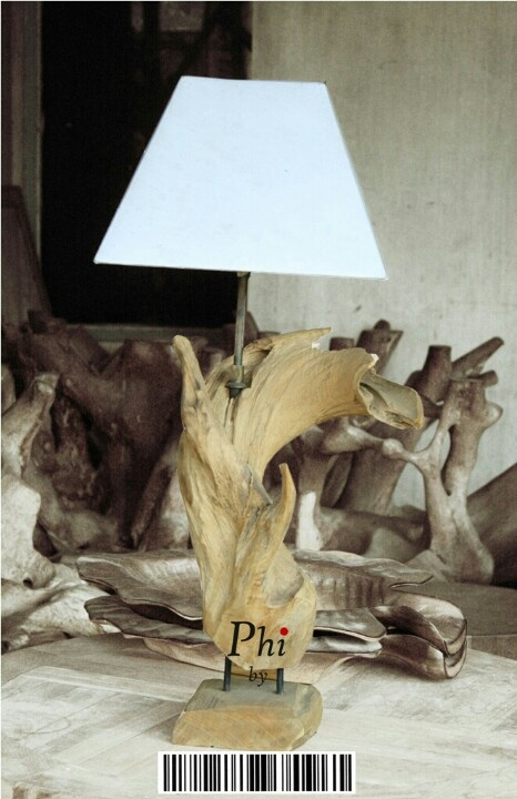 Abstractwoodlamp