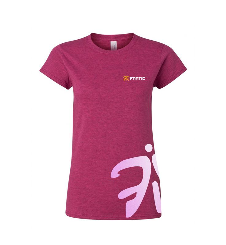 "Fnatic brings you a stylish new ""Modern"" female line of limited edition t-shirts. 100% cotton and comes pre-tagged with the Fnatic logo and a unique design on the side."