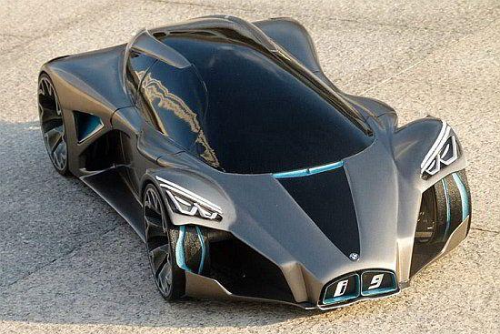 WEB LUXO - Carros de Luxo: BMW i9 Design, o conceito futurista de um designer