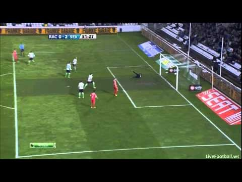 Resumen Racing de Santander 0-3 Sevilla FC