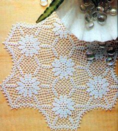 Free Crochet Table Runner Patterns (30) - Knitting, Crochet, Dıy, Craft, Free Patterns