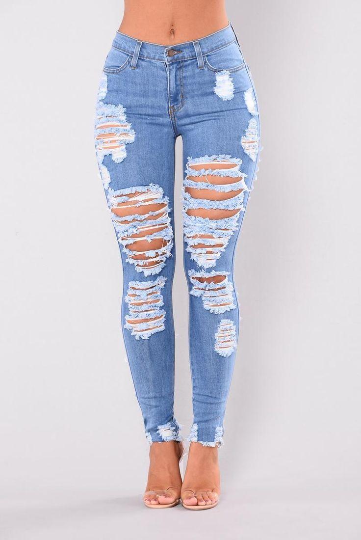 Jeans Desgastados Walk It Out Medium Smart Casual Attire Pants Outfit Men Jeans Outfit Casual