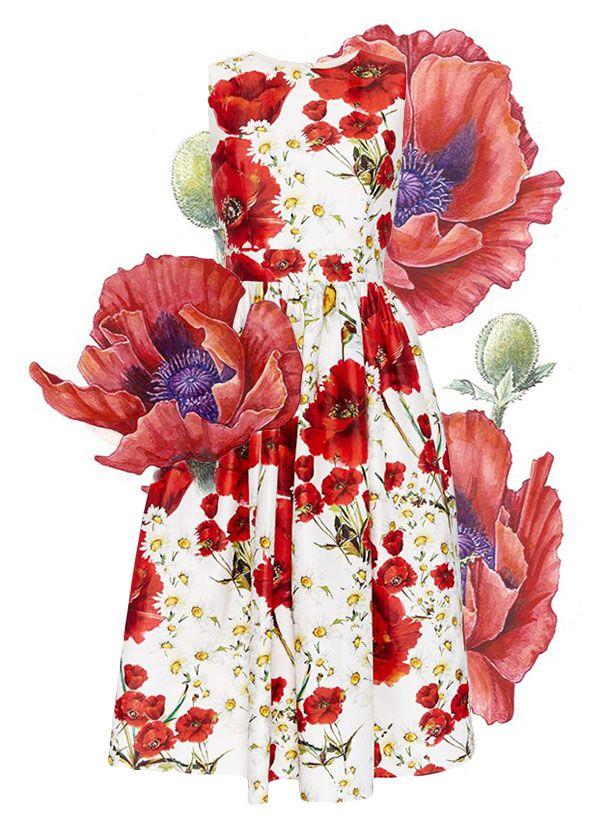 Vestidos envueltos en miles de flores  http://www.valentinacuriosea.com/2016/04/vestido-florales.html