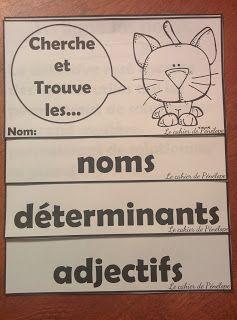 Le cahier de Pénélope: Cahier interactif sur les classes de mots Gratuit sur le…