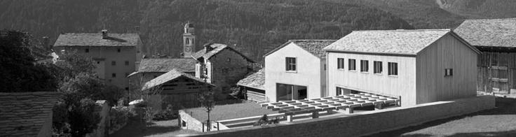 Casa e atelier Meier | Haus und Atelier Meier Soglio 2000 - 2003 Ruinelli Architetti Associati
