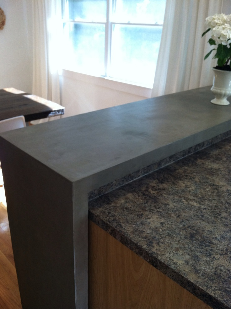 3 Of 5 Concrete Breakfast Bar Made From Ardex Sd M