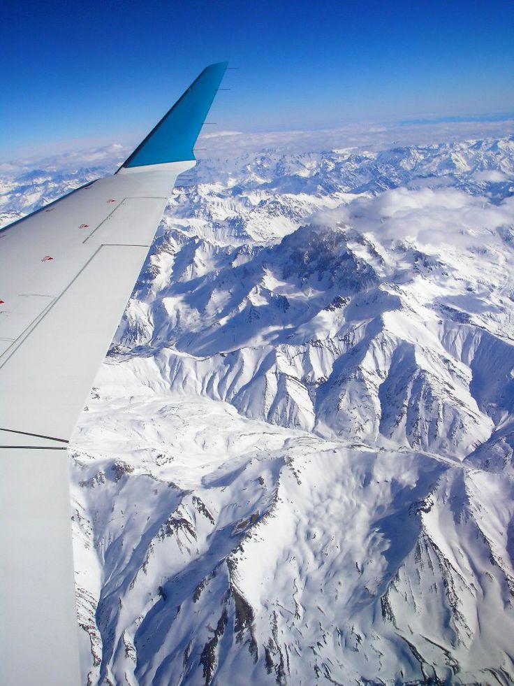 Cordilheira dos Andes...
