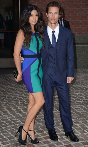 Camila Alves and Matthew McConaughey at Killer Joe premiere - Celebrity Pictures - Celebrity Pictures | Instyle UK