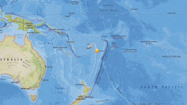 earthquake off fiji images   Powerful quakes strike off Fiji, Tonga, but no tsunami risk: Monitor ...