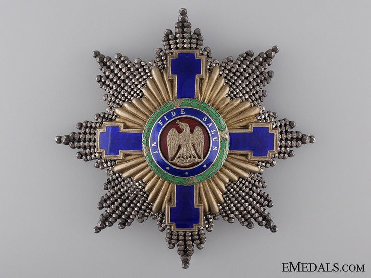 1864-1932 Order of the Romanian Star; Grand Cross Star | eMedals