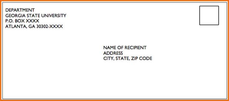 envelope cover format envelopeg sizes designers insights area sales manager letter