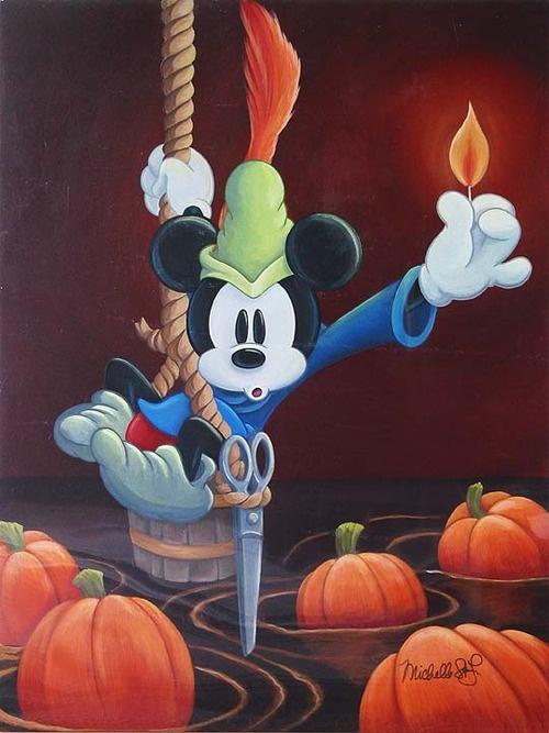 """The Brave Little Tailor,"" Disney Artwork by Michelle St. Laurent"