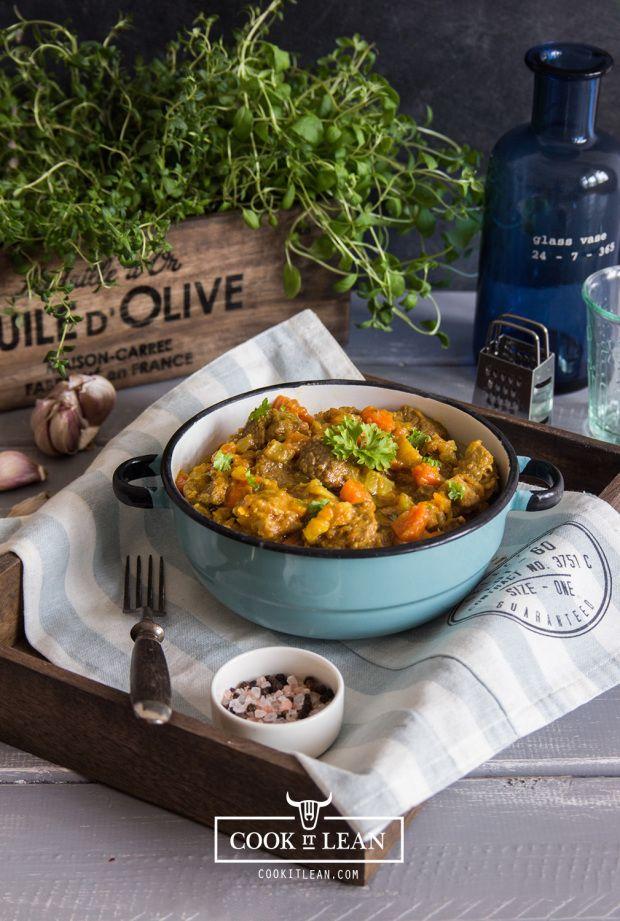 Wołowina duszona w warzywach - Cook it Lean - sprawdzone paleo przepisy