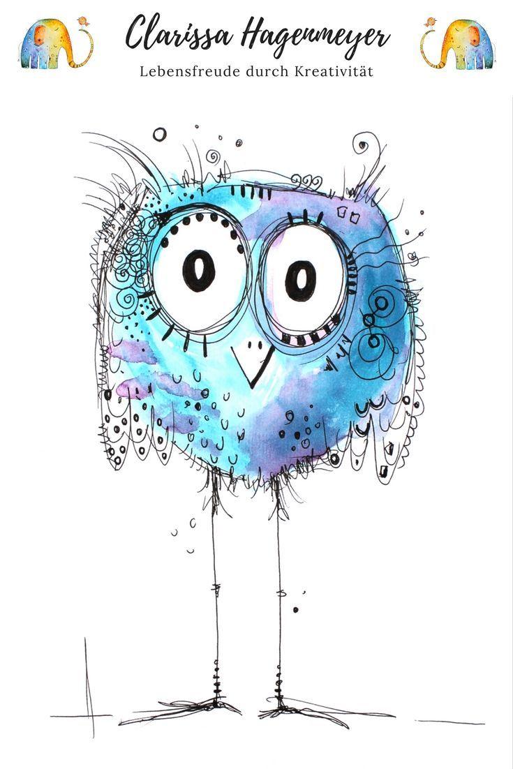 Dein Minikurs Happy Bird Malen Mit Freude Mit Art Bird