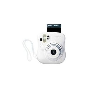 I love this instant film camera, it's super easy to use and brings lots of instant fun. I use it for fun snaps on parties with friends and family. You'll get lots of little polaroids ready to display.