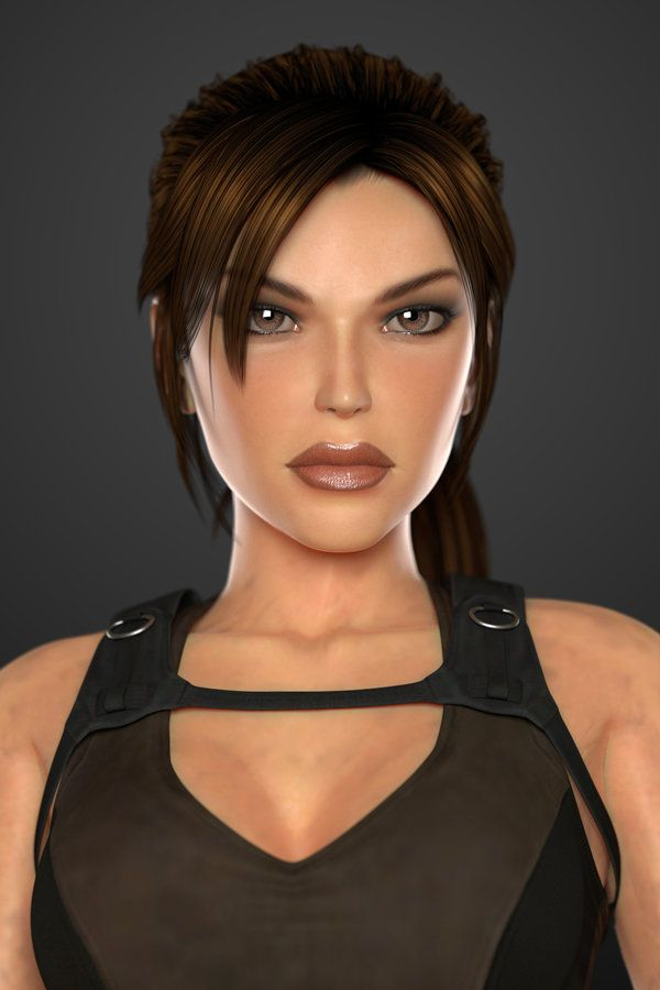 Lara Croft (Tomb Raider Underworld) - Portrait by lishaoran00 on deviantART