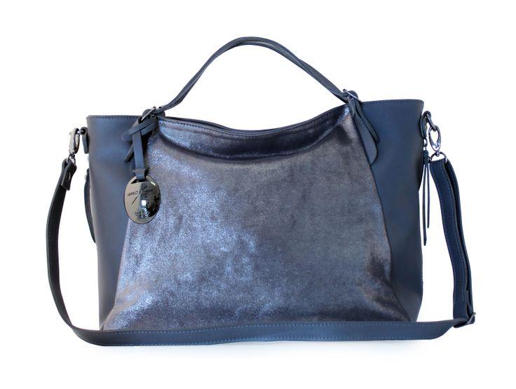 Ana Faye Sinead Grey Sparkle Handbag