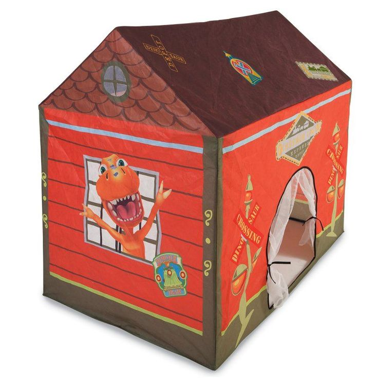 Pacific Play Dinosaur Train Station House Tent - 80650