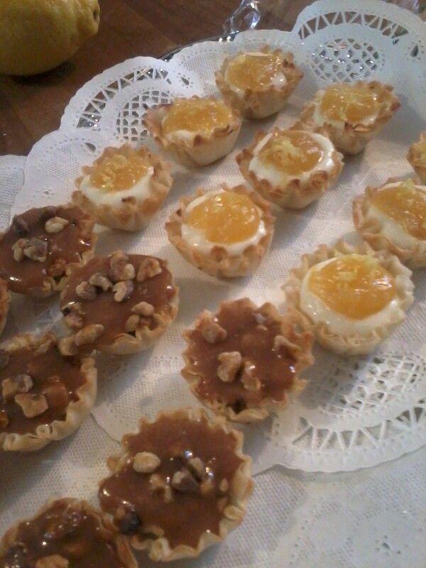 Christmas Bunco Party Ideas Part - 33: Dessert Tassies Took Them To The Christmas Bunco Party