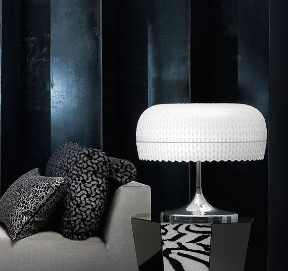 Medusa Table Lamp 'Lunarie' by LaokoonDesign on Etsy