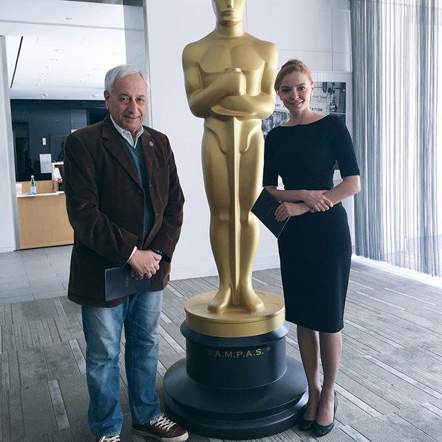 Marina Orlova - Academy Awards - Oscars ceremony #LosAngeles