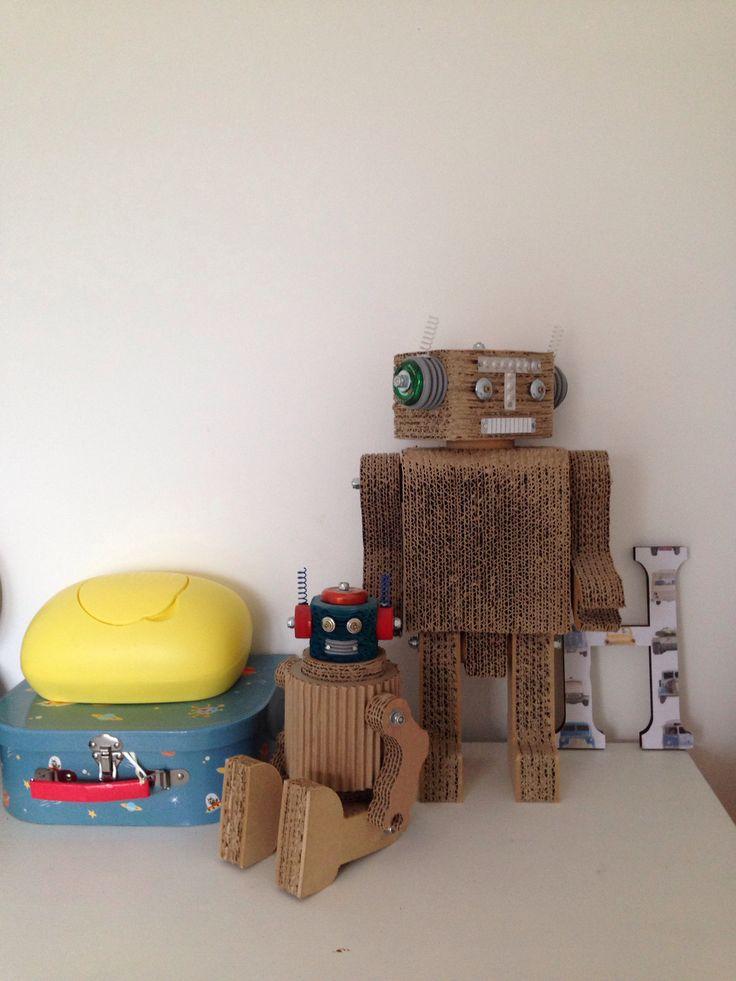 Cardboard robots