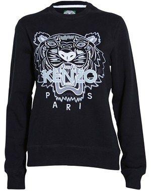 Tiger broderet sweatshirt, kenzo, fra www.youheshe.com, 1560 kr.