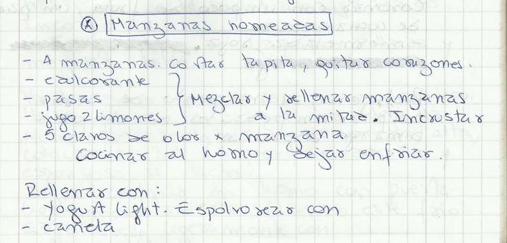 MANZANAS HORNEADAS   #DULCE #POSTRES #FRUTA #MANZANA