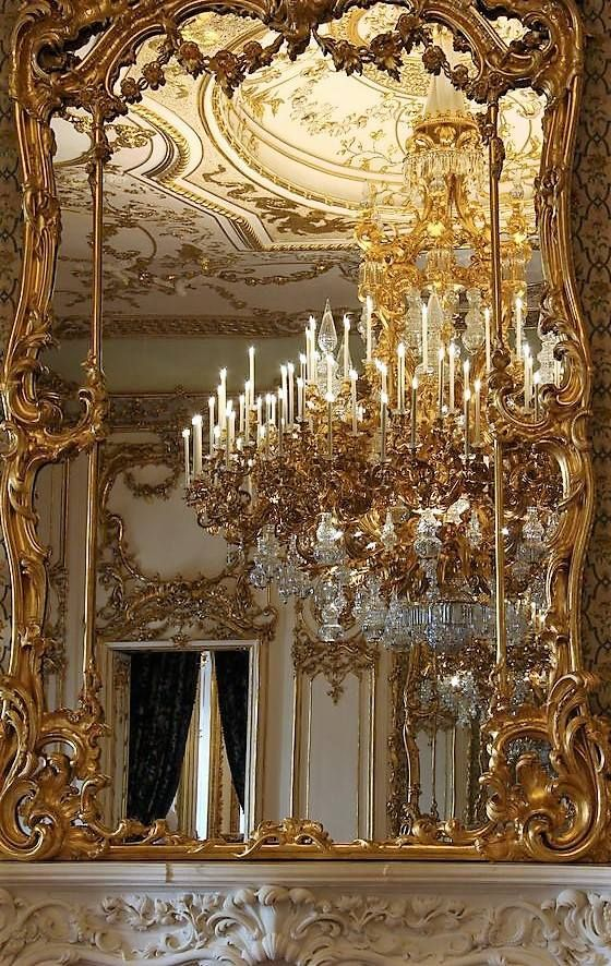 Gilded Reflection