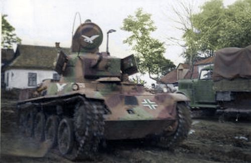 Hungarian Toldi Light Tank