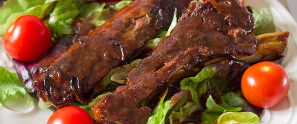 Oven Baked BBQ Ribs Recipe - Genius Kitchen
