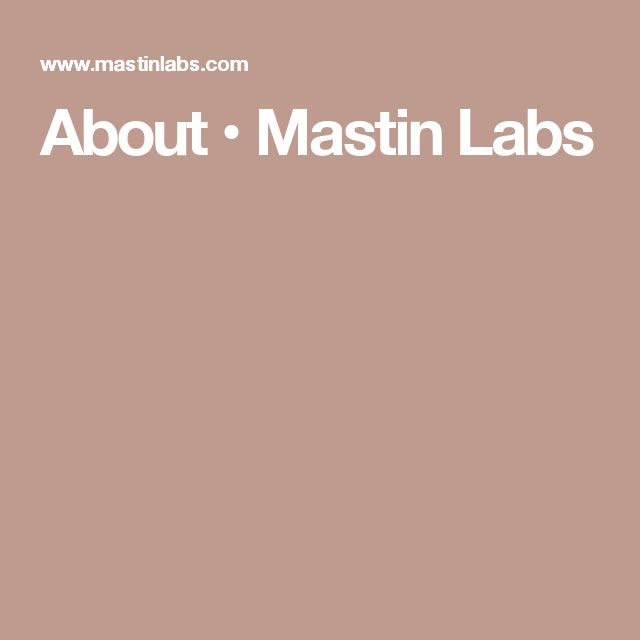 About • Mastin Labs