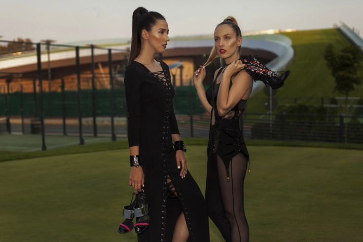 See Alina Tanasa and Diana Enciu all dressed in Murmur Signature golfing in style in their latest shooting by Tibi Vîntur at http://fabulousmuses.net/2016/08/giuseppe_zanotti_stejarii_country_club.html   Shop Murmur Signature pieces at http://www.murmurstore.com/product-category/signature-collection/