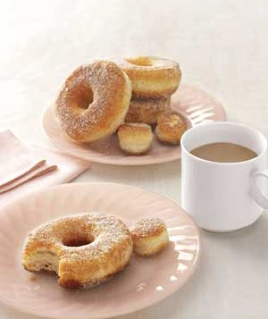 Easy eggless donuts made with pillsbury grands