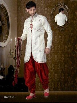 Dhoti Style Indian Sherwani