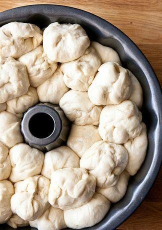 Συνταγές για μικρά και για.....μεγάλα παιδιά!: PIZZA BREAD TΕΛΕΙΟ!!! Η Pizza Monkey Bread