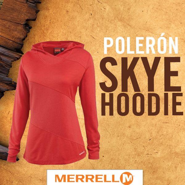 Polerón #Skye #Hoodie #Merrell