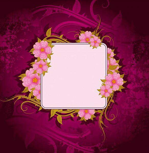 Gorgeous Fall Wallpaper Flowers Frame Frame It Frame Flower Frame Printable