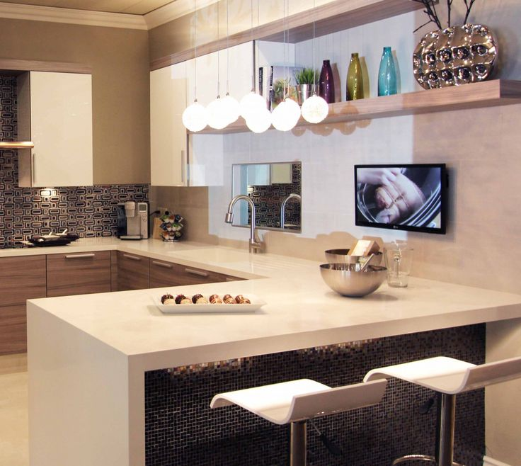 Inspirational Foil Finish Kitchen Cabinets