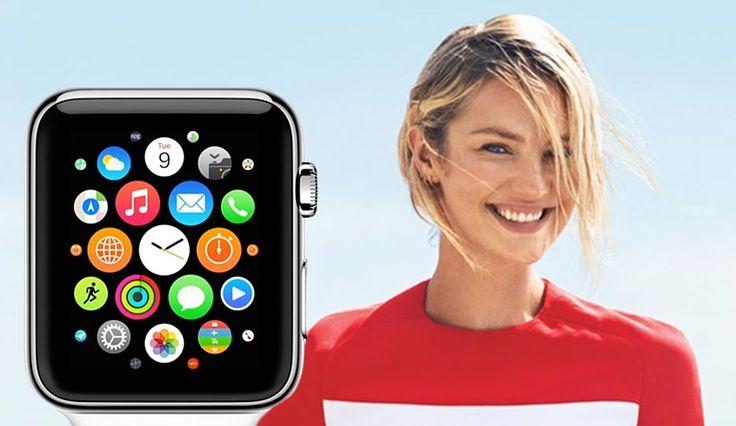 El Apple Watch Debuta en la Portada de una Revista Estadounidense Junto a la Modelo Candice Swanepoel