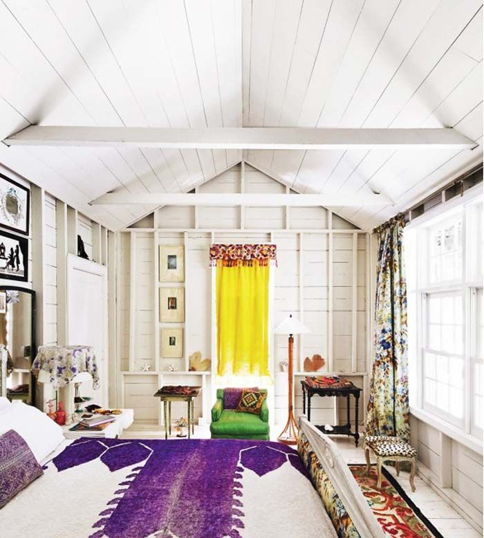lively bohemian