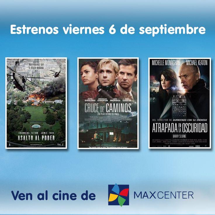 Si queréis un buen plan para este fin de semana, además de traer a vuestros peques a nuestro TOUR DISNEY, os traemos los estrenos que llegan a nuestros cines para que decidáis la película que más os gusta.  ¡Os esperamos en Max Center!
