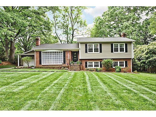 1960 Split Level In Nc Layout And Design Samples Inside A